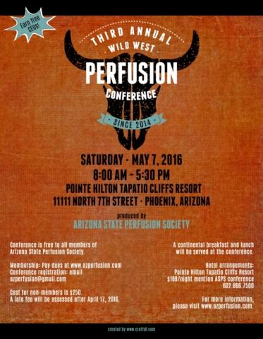 az perfusion conference 2016